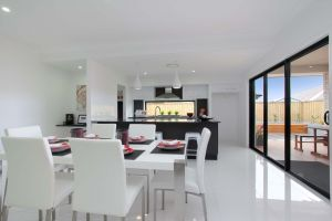 The Ascot 24 New Display Home Dining Room and Kitchen