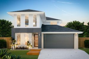 The Airlie New Home Design With the Villa Facade
