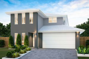 The Airlie 24New Home Design with Traditional Facade