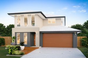 The Airlie 28 New Home Design with Villa Facade