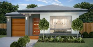 The Alberton New Home Design with Traditional facade