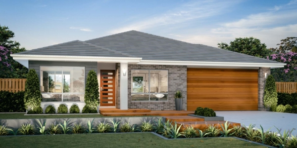 The Ascot New Home Design With the Traditional Facade