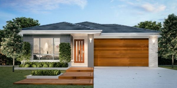 The Aspley New Home Design With the Traditional Facade