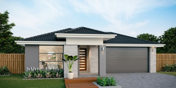 The Avoca 24 New Display home with pavilion facade