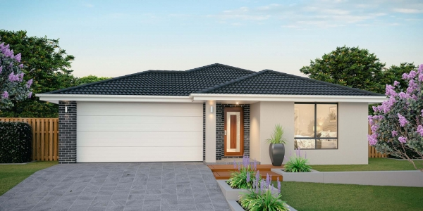 The Bargara 26 New Home Design with Traditional Facade