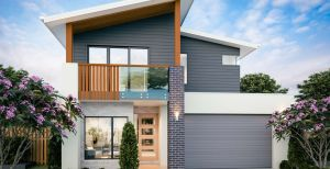 The Belmont New Home Design With the Elite Facade