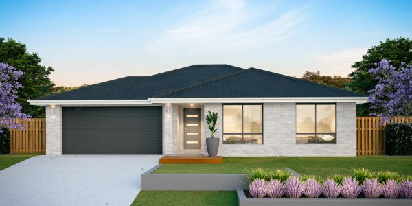 The Bondi 20 New Display Home with the Traditional facade