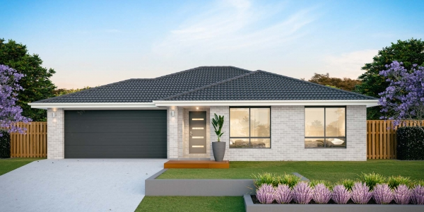 The Bondi 20 New Home Design with Traditional Facade