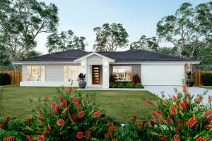 The Brindabella 20 Display Home with the village facade