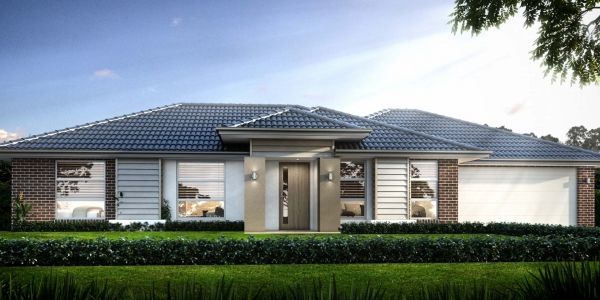 The Brindabella New Home Design With the Urban Facade