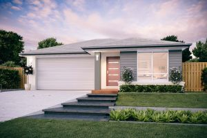 The Broadbeach New Home Design With the Traditional Facade
