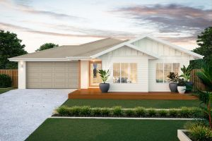 The Burleigh New Home Design With the Display Facade