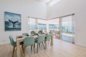 Coastal Display Home Dining Room