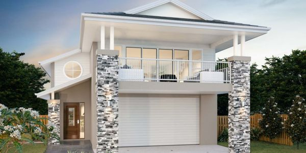 The Highview New Home Design With the Classic Facade