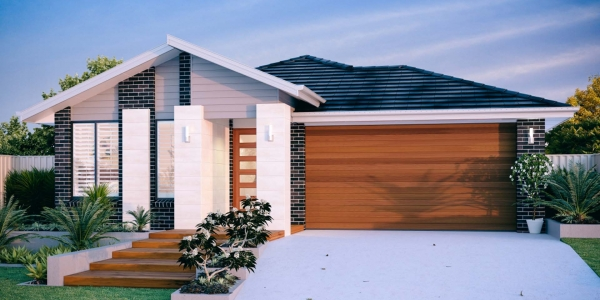 Kingscliffe New Home Design With the Elite Facade