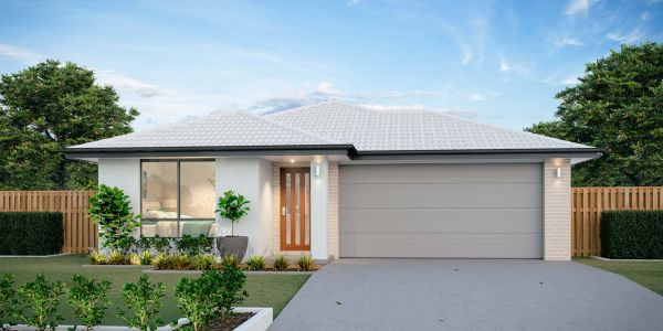 The Kingscliff New Home Design With the Traditional Facade