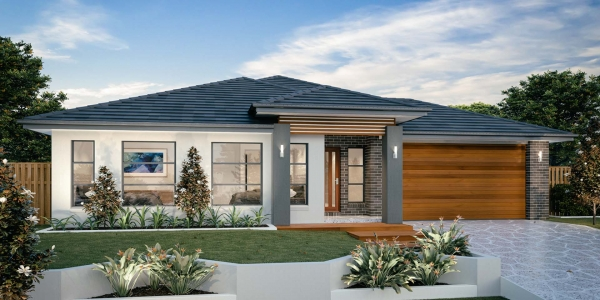 The Manly 32 or 30 New Home Design with Contemporary Facade