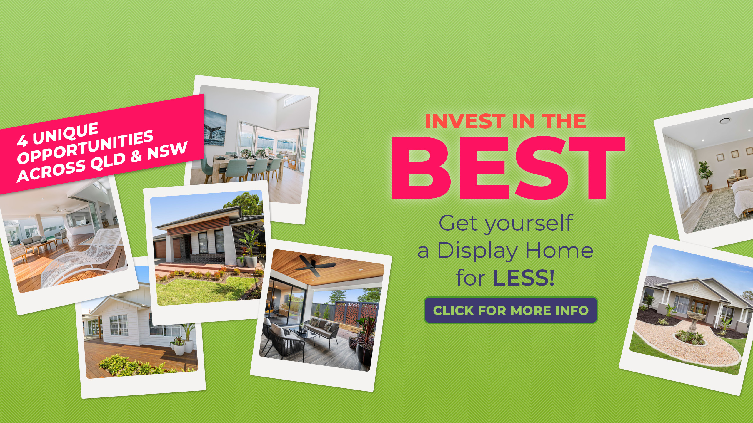 Display Home Investment Banner