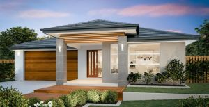 The Oberon New Home Design With the Contemporary Facade