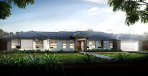 The Seaview New Home Design With the Urban Facade