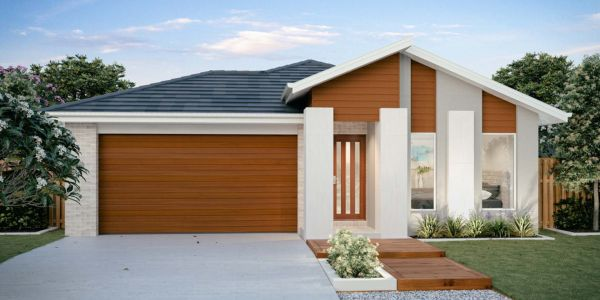 The Weston New Home Design With the Elite Facade