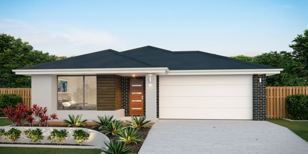 The Bargara 26 Display Home with the Resort facade