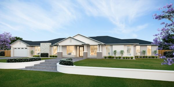 The Lincoln 39 New Display home with The Hamptons facade